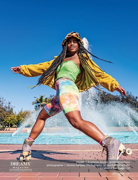 Preshous, Roller Skater/Actress