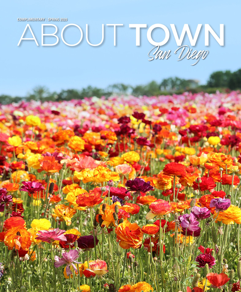 About Town Magazine Cover