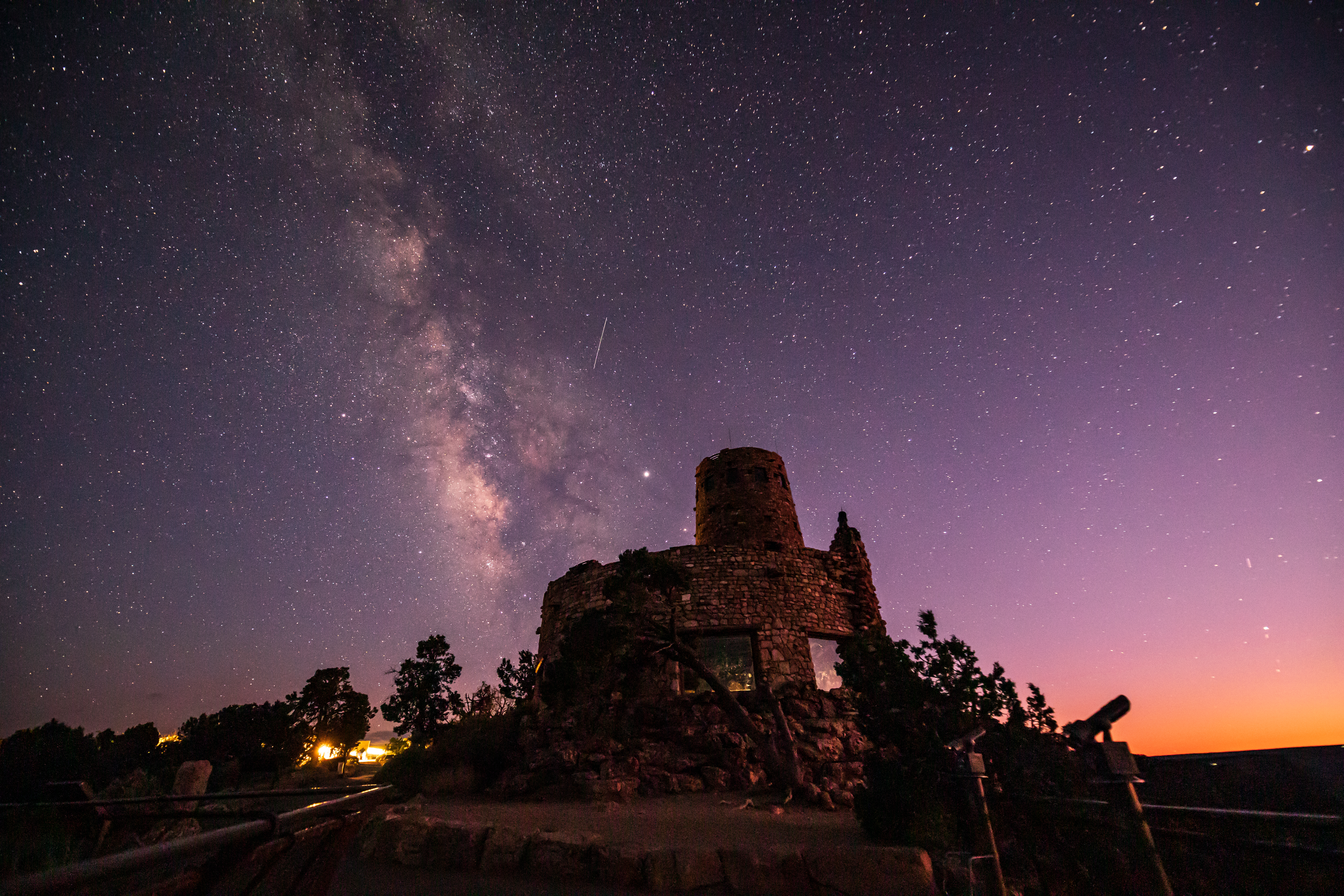 Desert View Watch Tower Milkyway