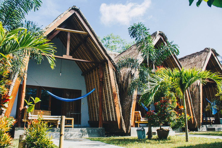 Sasak Bungalows in Palm Green Homestay