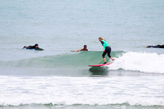 Small & mellow wave in South Lombok
