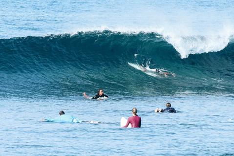 Hollow wave in Seger, Kuta Lombok