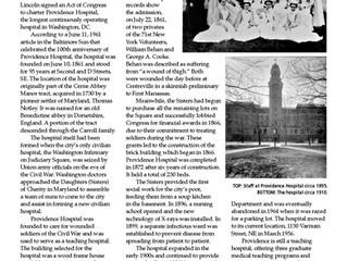 A History of Providence Hospital