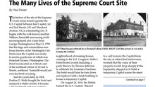 History of the Site of the U.S. Supreme Court