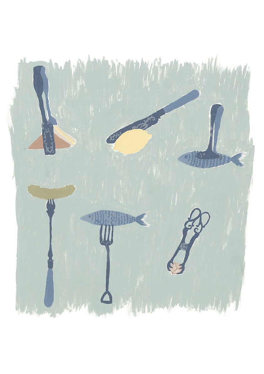 tongs and forks