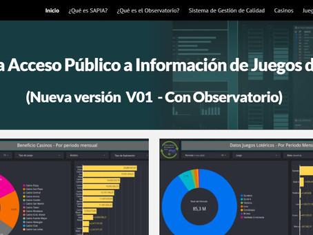IPJyC de Mendoza: nueva versión del Sistema Acceso Público a la Información y Observatorio de Juegos