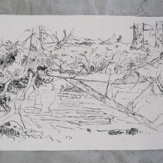 Esquisse de forêt anticostienne