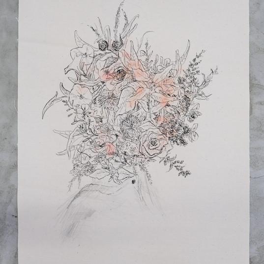 Autoportrait floral