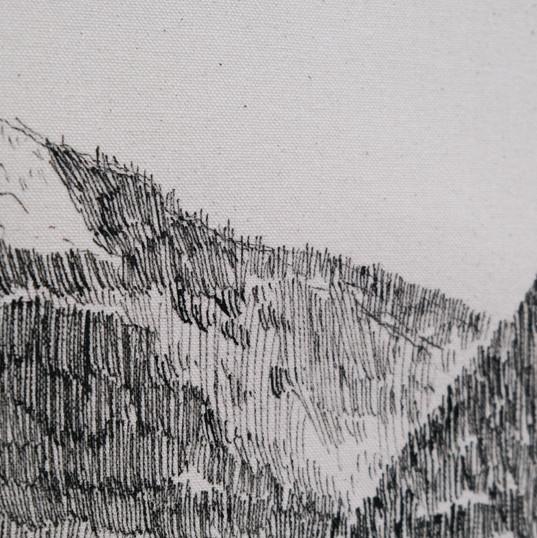 Le Dôme (détail)
