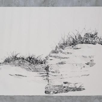 Fragment de falaise à Anticosti