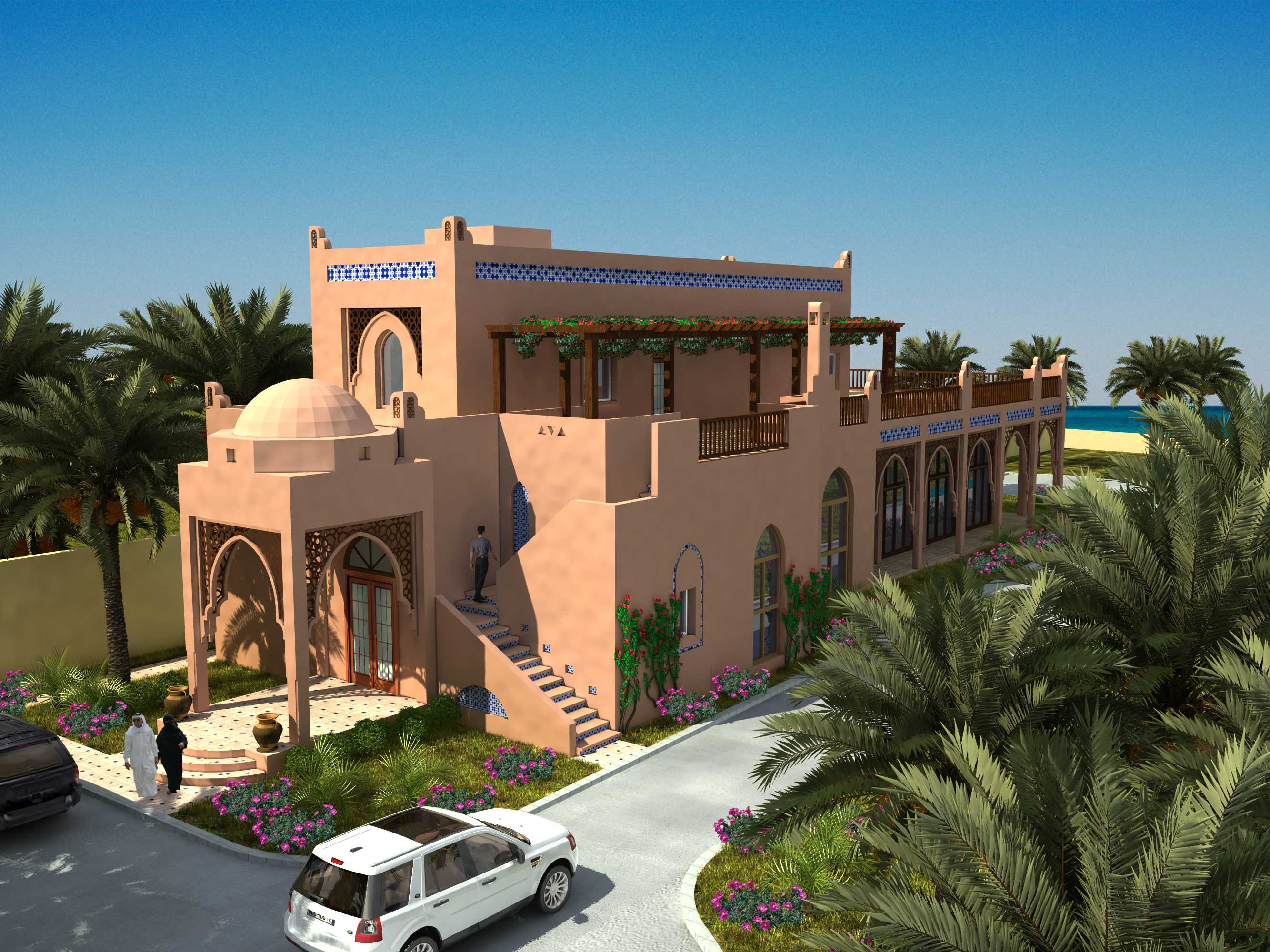 مشروع إنشاء شاليه ببنيدر 2