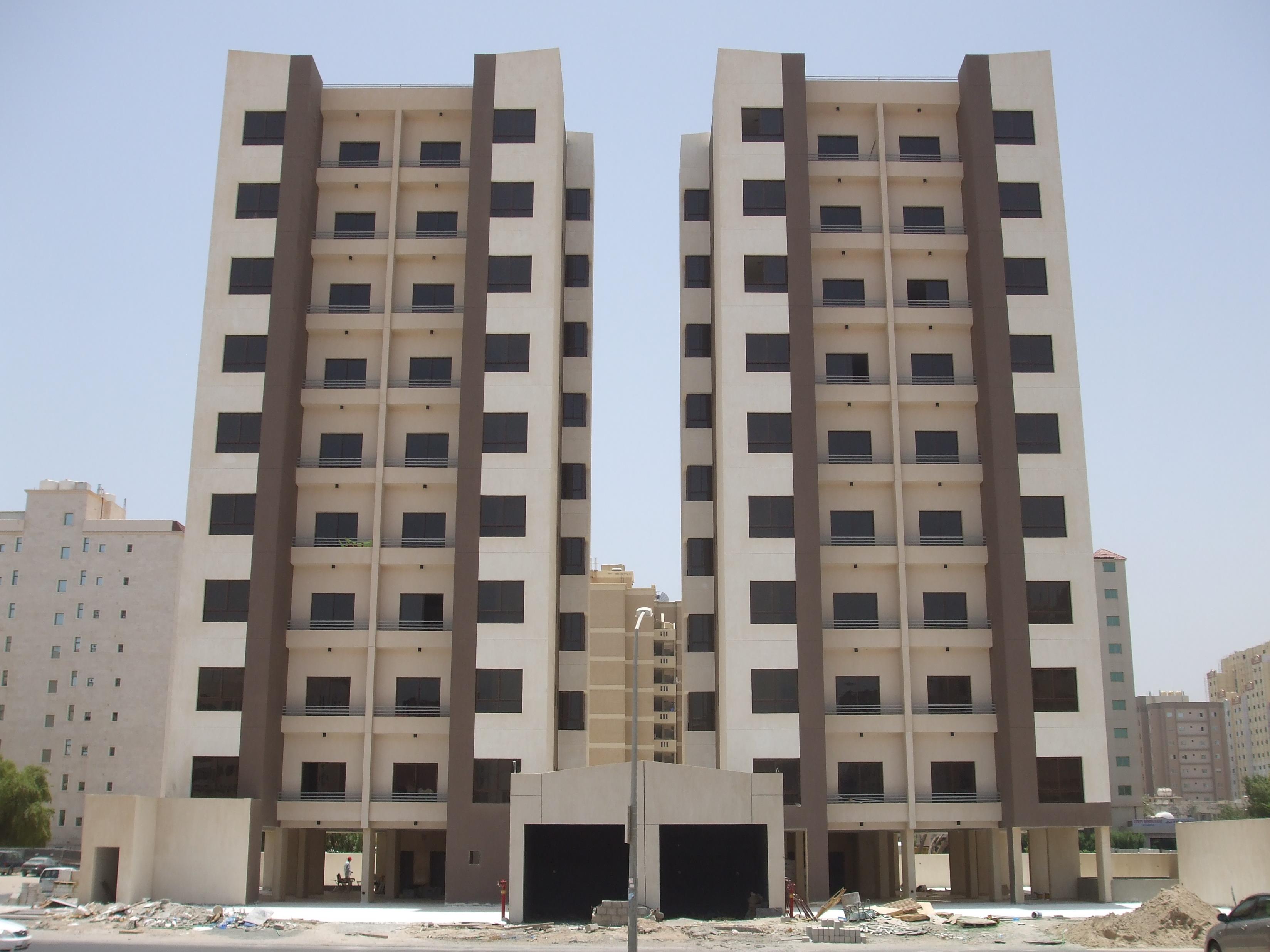 مشروع إنشاء عمارتين إستثمارى بالسالمية