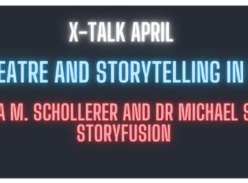 StoryFusion am 8. April // Storytelling und Theatre in VR: Mit Michael Straeubig bei der X-NIGHT