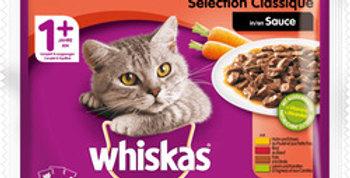 Nourriture chat ragoût en sauce Whiskas 4x100g