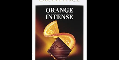 Tablette chocolat Orange intense Lindt Excellence 100g
