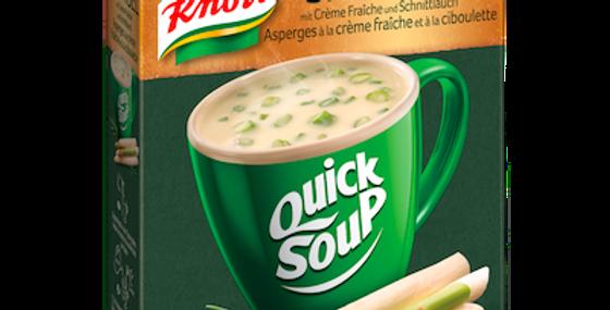 Soupe rapide asperges Knorr 3x