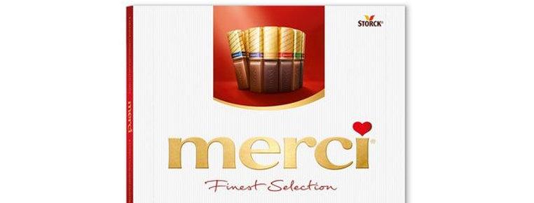 Boîte chocolat Merci Storck 400g
