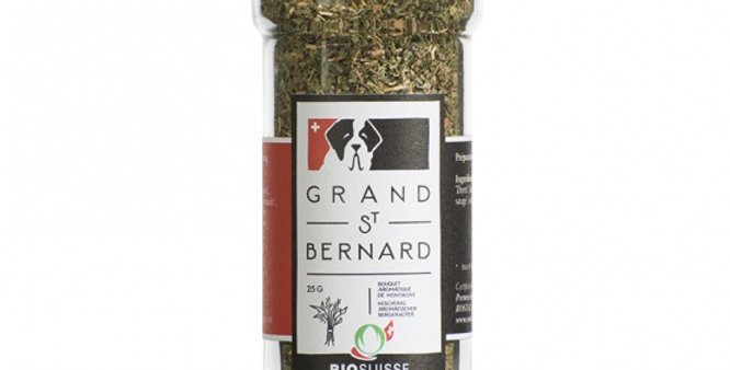 Bouquet aromatique bio Grand St Bernard 60g