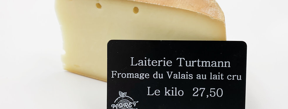 Turtmann - raclette au lait cru
