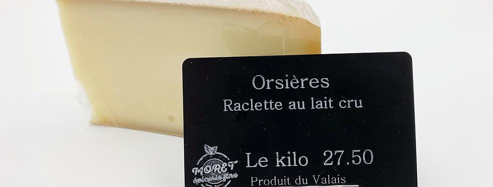 Orsières - raclette au lait cru