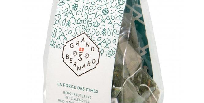 Tisane des Alpes La force des cimes BIO Grand-St-Bernard 15 sachets