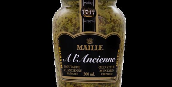 Moutarde à l'ancienne gros grain Maille 210g