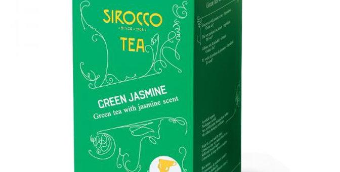 Thé green jasmine Sirocco 20 x 2.5g