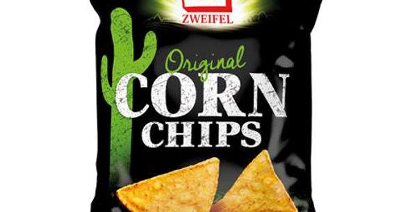 Chips maïs corn original Zweifel 125g