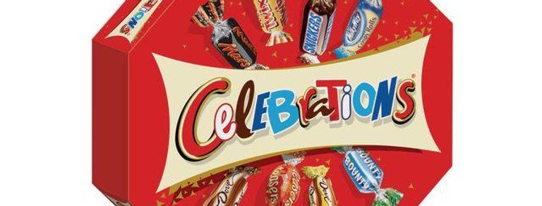 Boîte chocolat Célébrations 196g