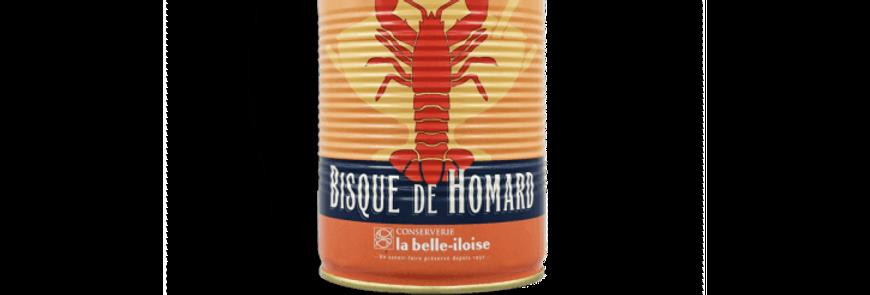 Bisque de homard la belle-iloise 400g
