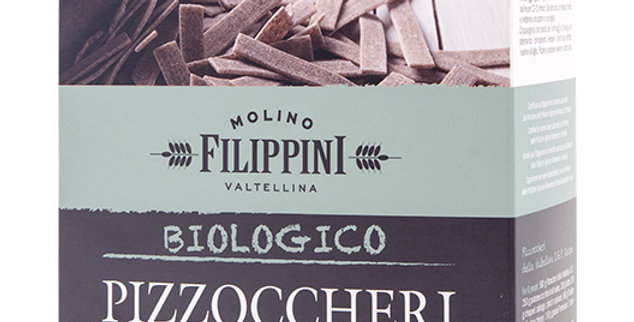 Pizzoccheris du valteline Filippini bio 500g