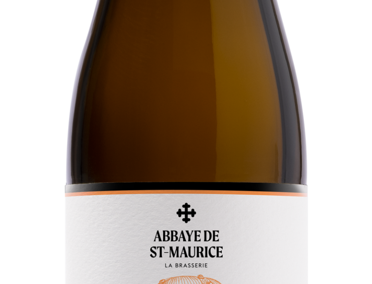 Bière blanche Candide Abbaye de St-Maurice 33cl