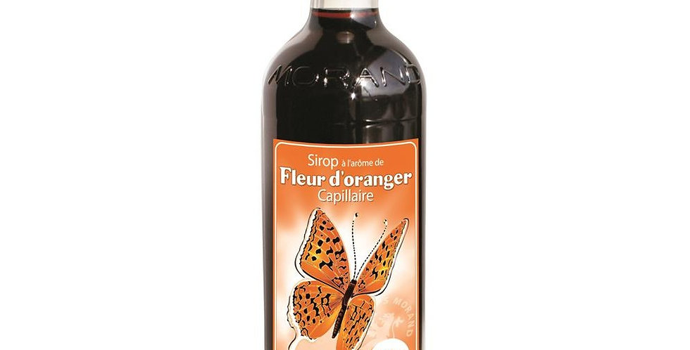 Sirop Morand arôme fleur d'orange 1 L