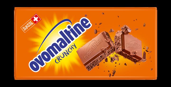 Tablette chocolat crunchy Ovomaltine 100g