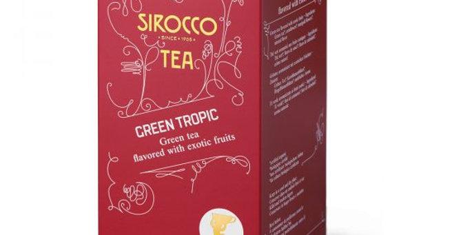 Thé green tropic Sirocco 20 x 2.5g