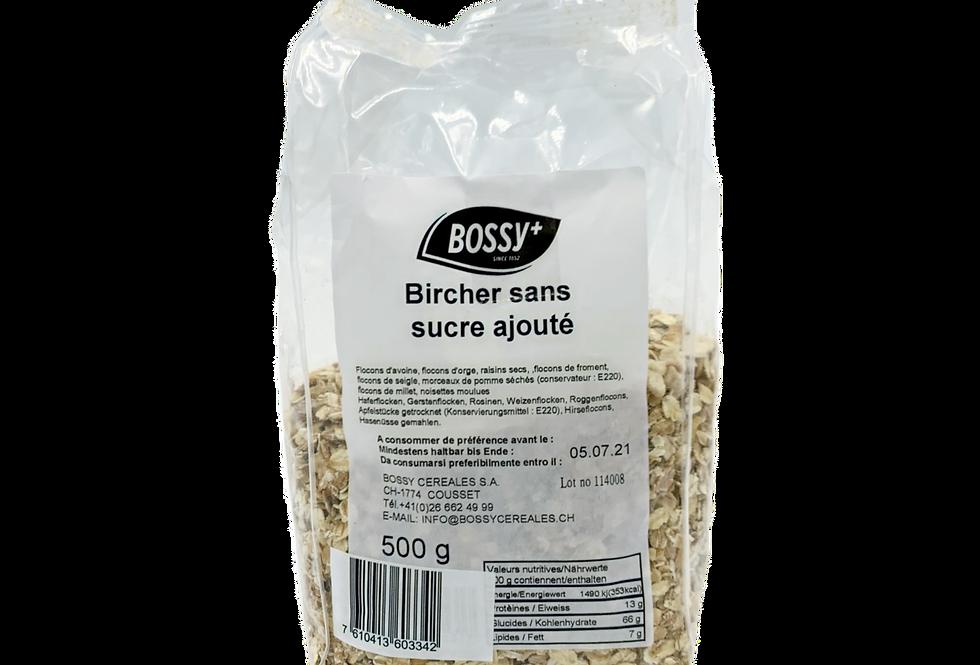 Bircher sans sucre ajouté Bossy 500g