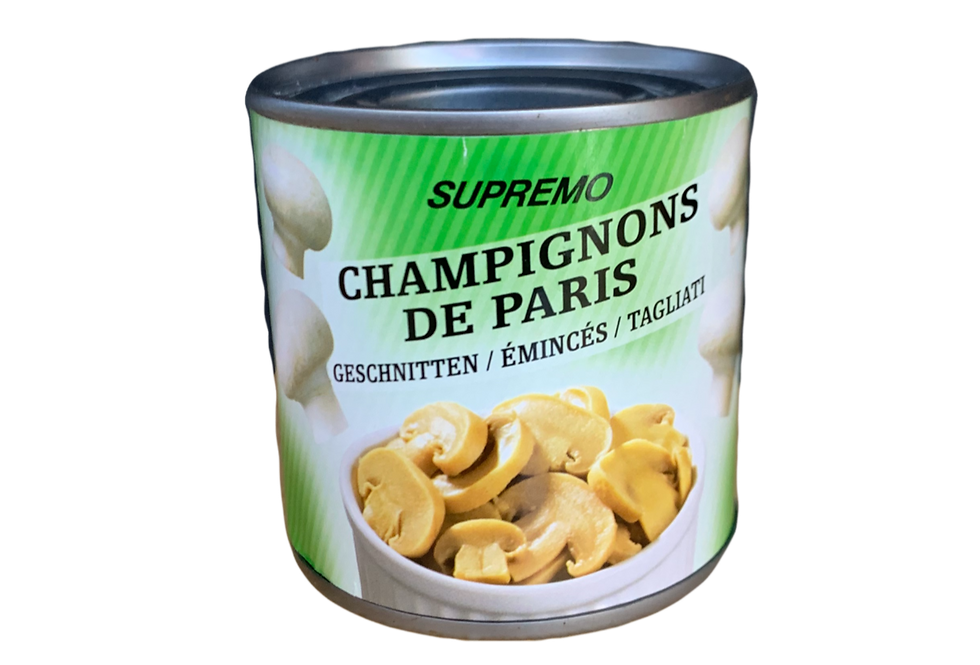 Champignons de Paris émincés Supremo 184g