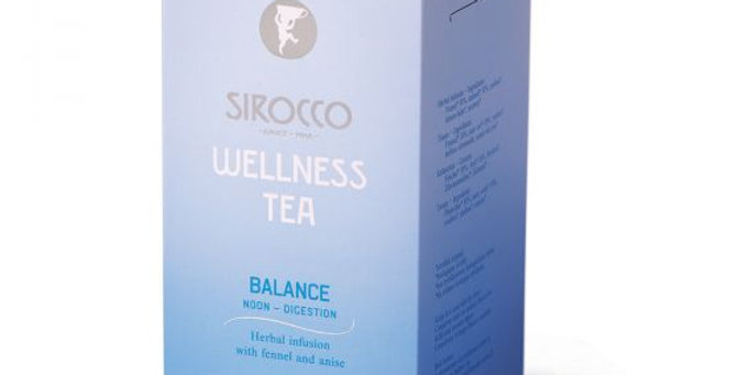 Thé wellness balance Sirocco 20 x 2.5g
