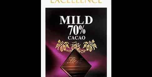 Tablette chocolat noir 70% Lindt Excellence 100g