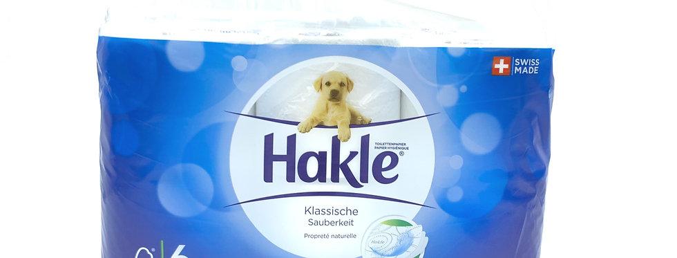 Papier toilette Hackle 6pces
