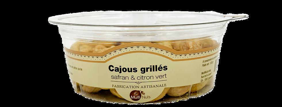 Cajous grillés safran et citron vert Multinuts 130g