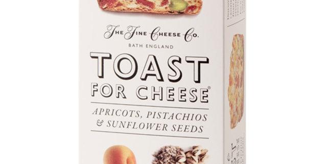 Toasts croustillants abricot, pistache et g. de tournesol Fine Cheese 100g