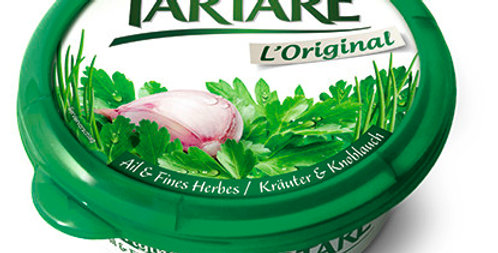 Fromage à tartiner ail fines herges Tartare 150g