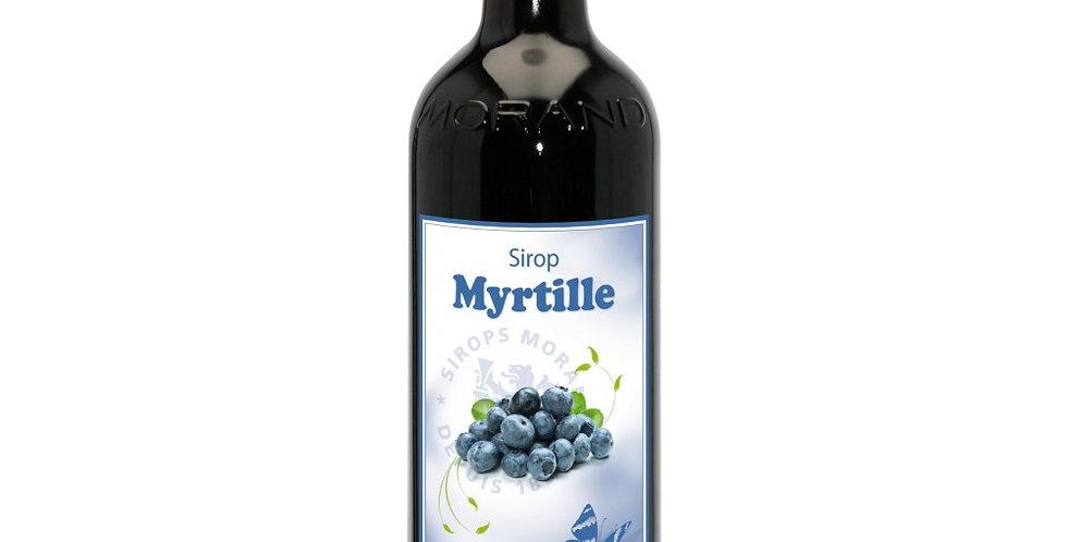 Sirop Morand myrtille 1 L