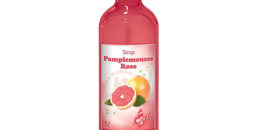 Sirop Morand pamplemousse rose 1 L