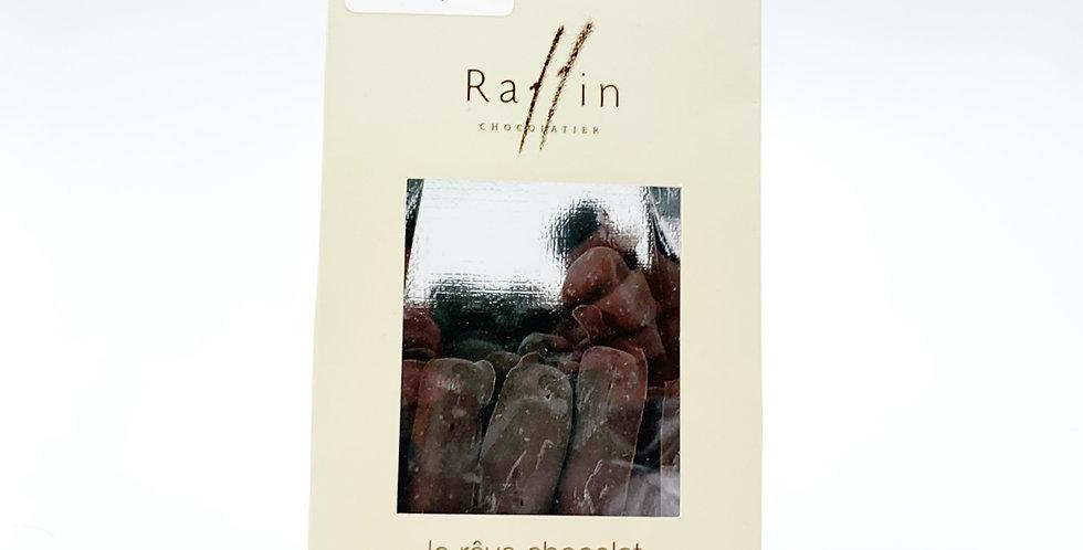 Bâtonnets gingembre chocolat noir Raffin 100g