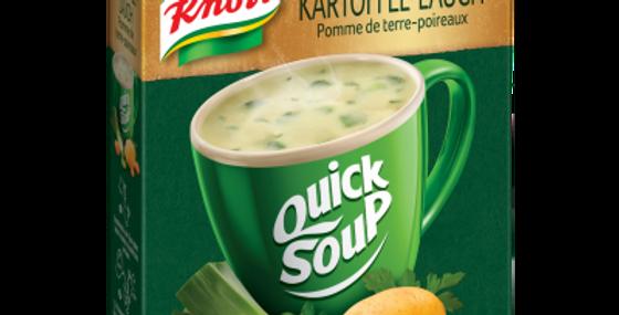 Soupe rapide pomme de terre/poireau Knorr 3x
