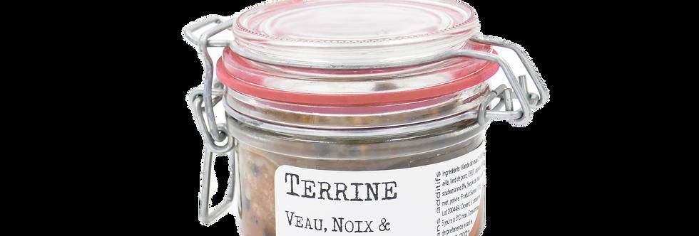Terrine veau, noix et Soubozianne Chez Denis 125g