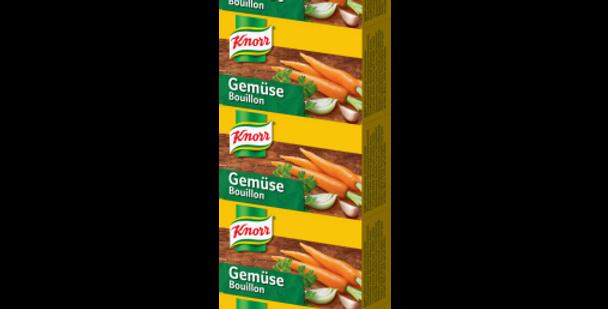 Bouillon légumes Knorr 5 x 22g