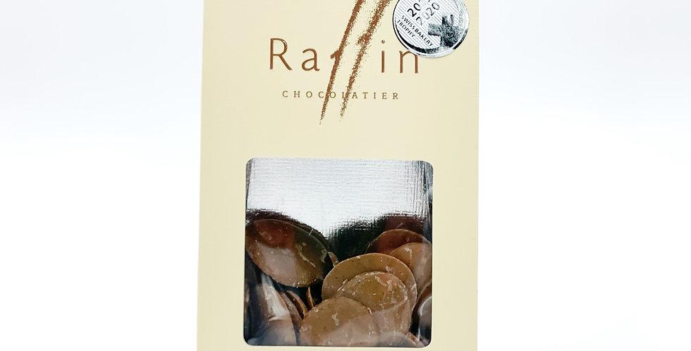 Chocolat au lait caramel vanille sel Raffin 100g